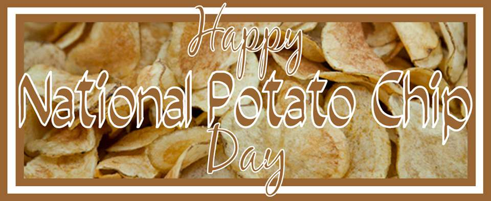 National Potato Chip Day Wishes For Facebook