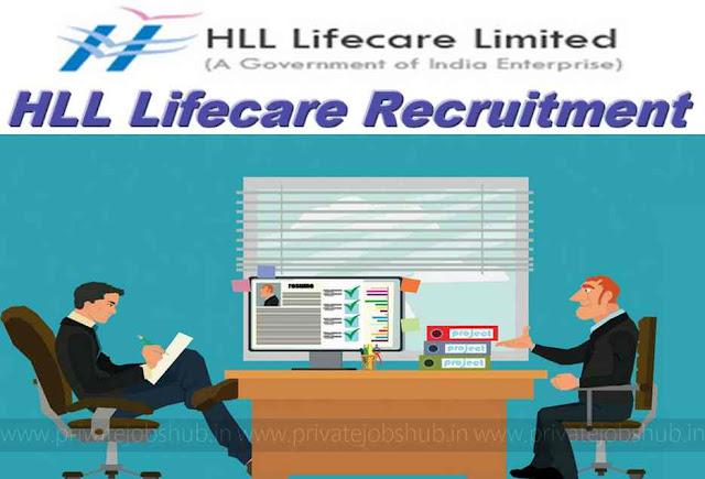 HLL Lifecare Recruitment