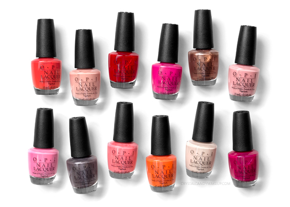 Collection California Dreaming d'OPI Avis Revue