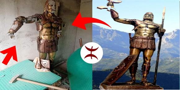 aksel statue تمثال اكسيل كسيلة