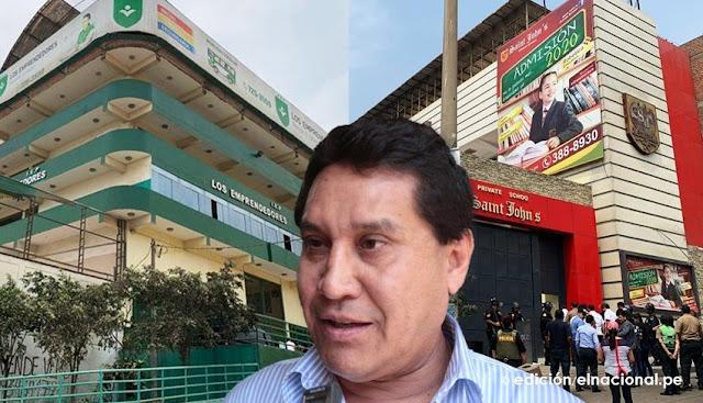 Decomisan propiedades a exalcalde Carlos Burgos valorizados en S/ 9 millones