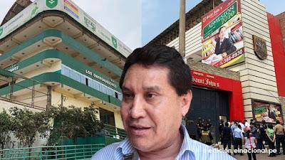 Propiedades incautadas del exalcalde Carlos Burgos están valoradas en S/ 9 millones