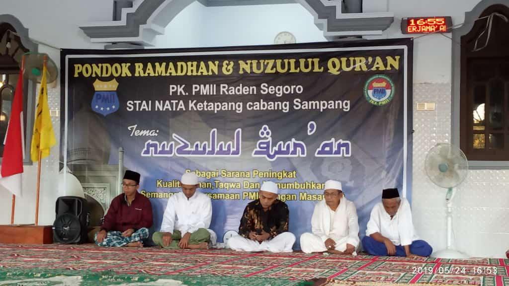 Peringati Nuzulul Qur'an, PMII Raden Segoro Gelar Pondok Ramadhan