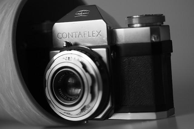Zeiss Ikon Contaflex + Carl Zeiss Tessar 45mm - RECENZJA
