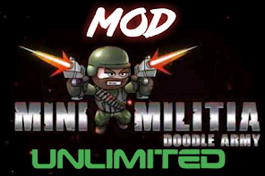 Download Mod Mini Militia apk | Unlimited nitro, health & ammo 2020