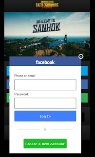 Script Phising PUBG Mobile Terbaru 2020