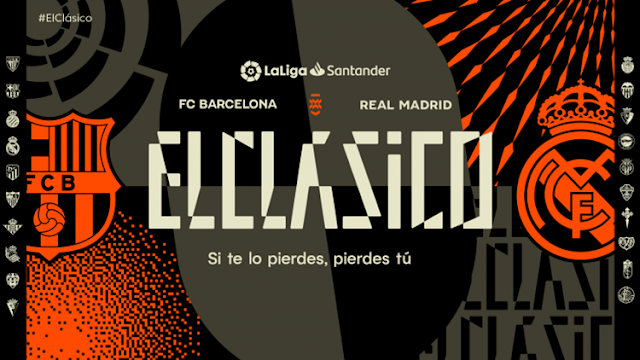 Rebranding ELClasico: LaLiga Design A New Identity for The World's Most Iconic Club Match