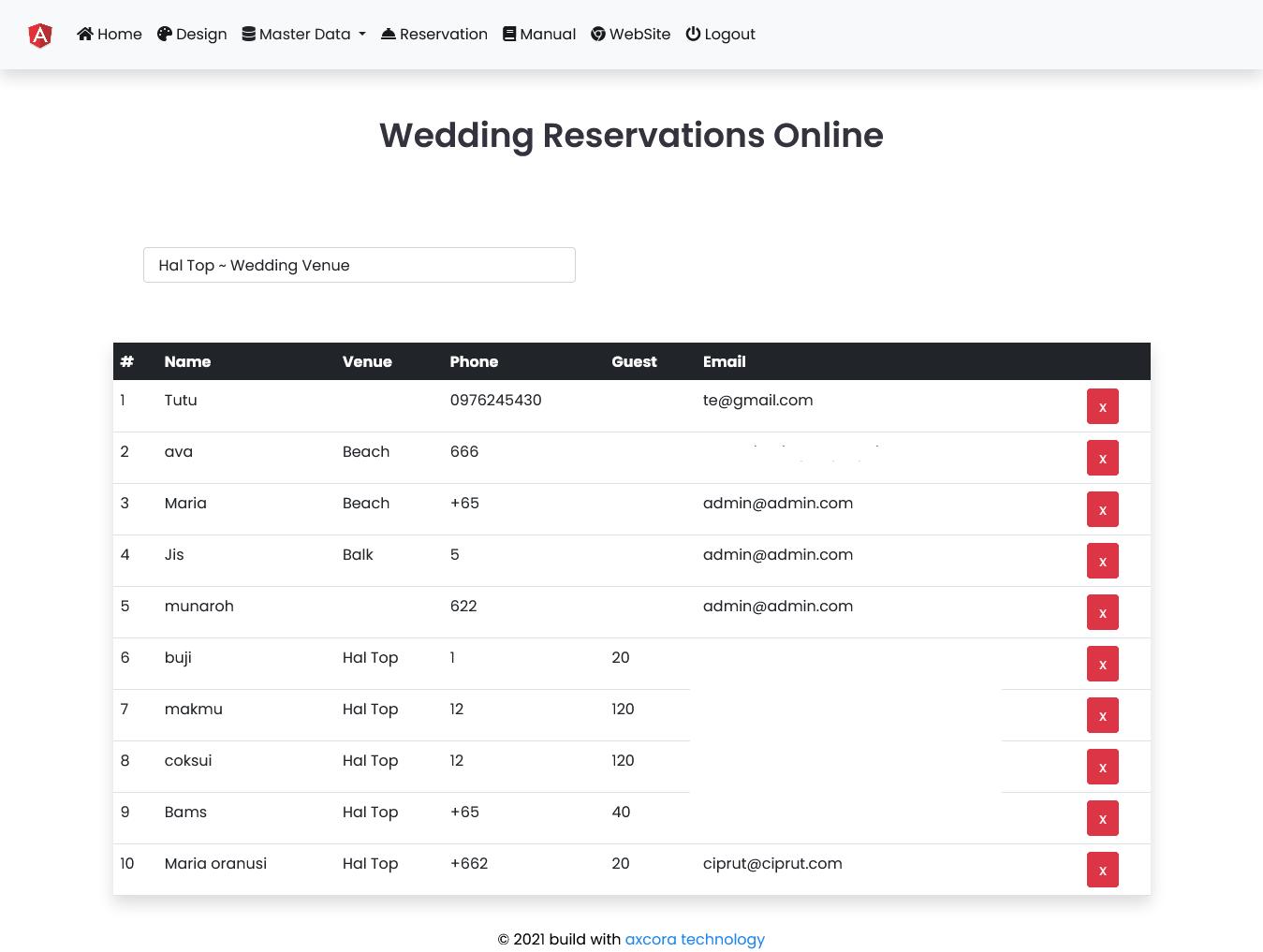 pembuatan website hotel aplikasi hotel reservasi online shadow rounded