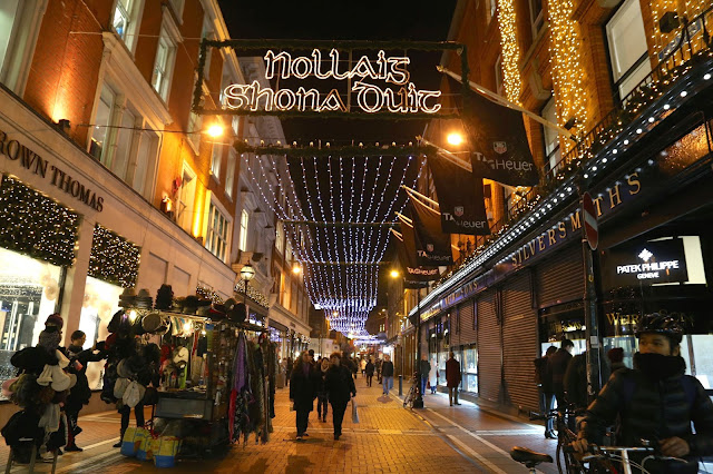 Dublin at Christmas