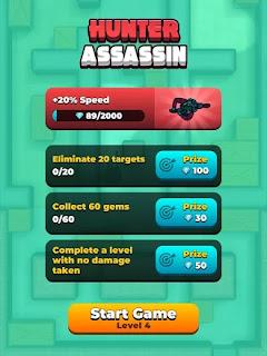 Hunter Assassin apk mod dinheiro infinito