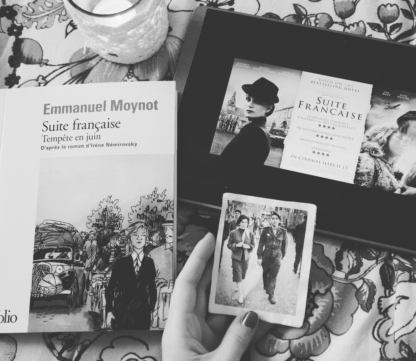 BD Suite française, Tempête en juin Emmanuel Moynot adapté roman Irène Némirovsky Coin des licornes Blogueuses littéraires Toulouse