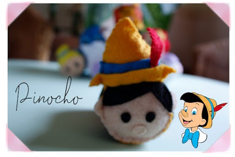 Tsum tsum Pinocho de fieltro