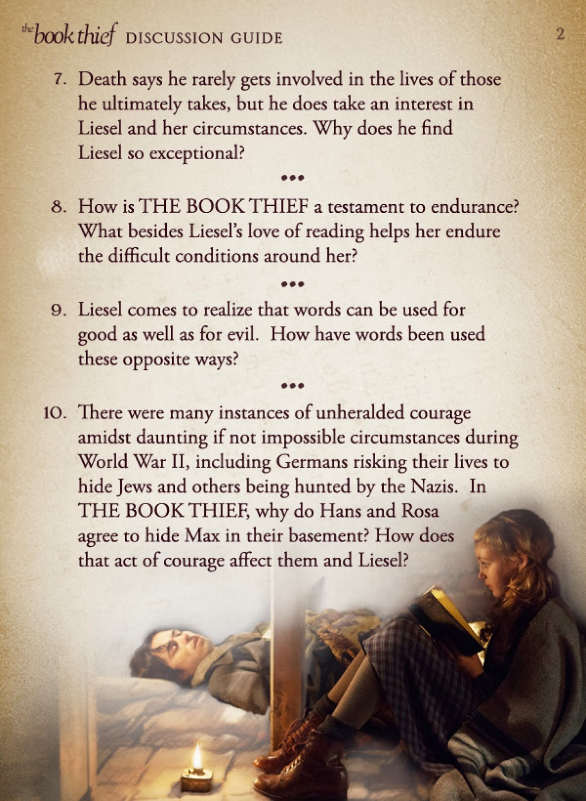 New Age Mama The Book Thief Discussion Guide Amp Giveaway