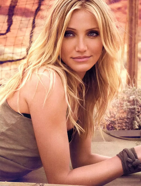 Cameron Diaz Blonde Hair With Slight Waves