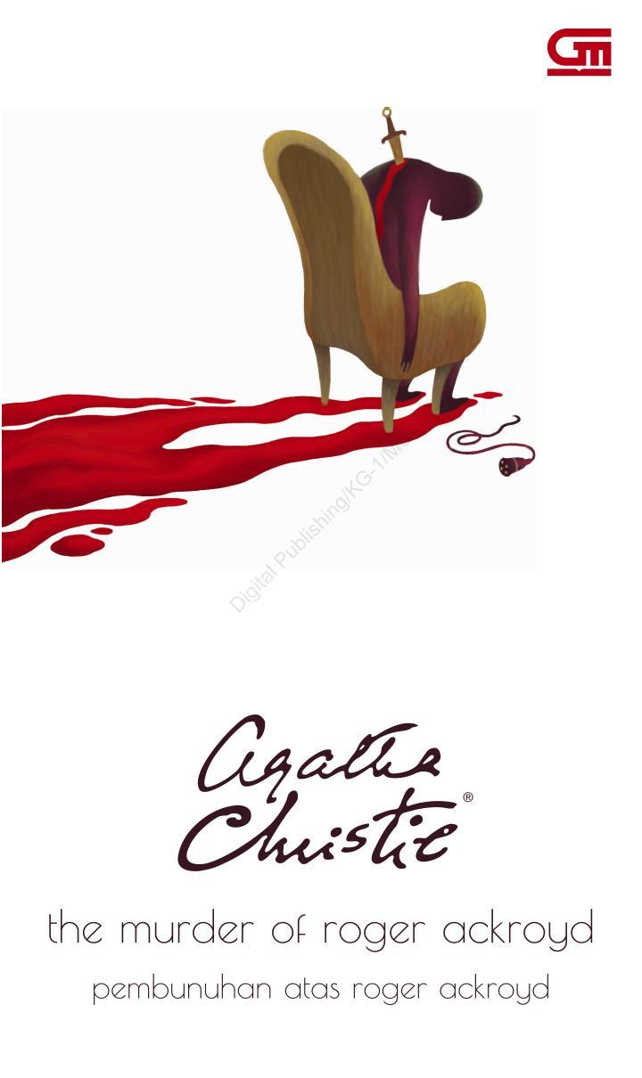 [Review Buku] Pembunuhan Atas Roger Ackroyd Oleh Agatha Christie