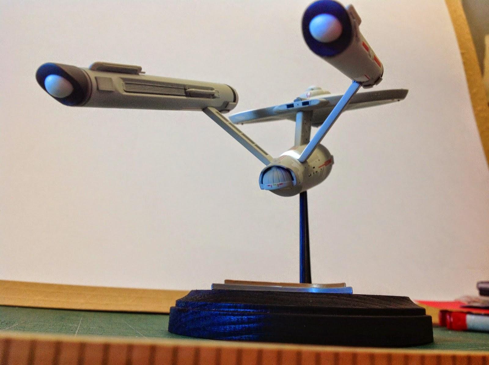 Star Trek Scale Model Polar Lights