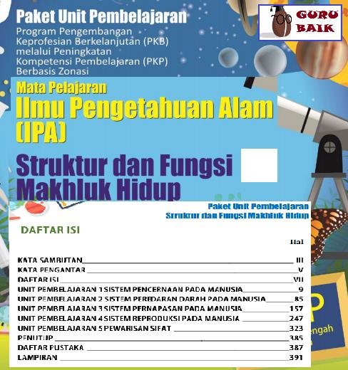 Download Modul PKP Guru IPA SMP Edisi 2019/2020 format Pdf
