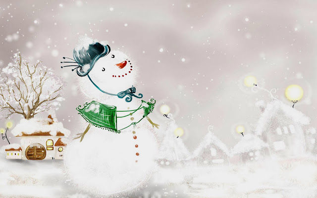 Snowmen-Wallpapers-Backgrounds