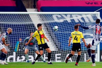 ملخص واهداف مباراة وست بروميتش وهاروجيت (3-0) كاس رابطه الدوري الانجليزي
