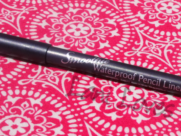 Peripera Smoothie Waterproof Pencil Liner #8 Golden Peach Swatches & Review