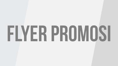 promosi, flyer, brosur,