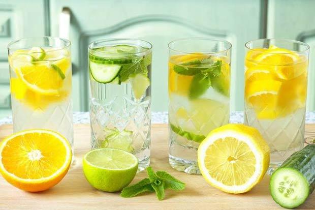 10 công thức nước uống giúp giảm mỡ, thanh lọc cực kì hiệu quả