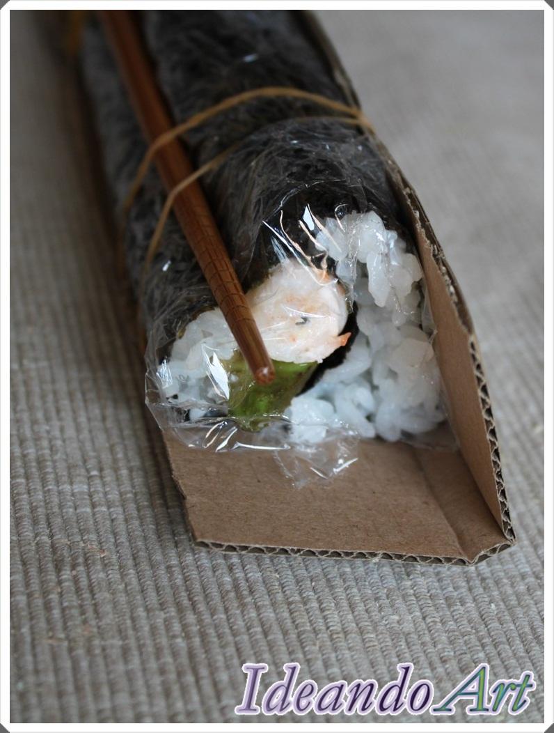 Corazones de sushi