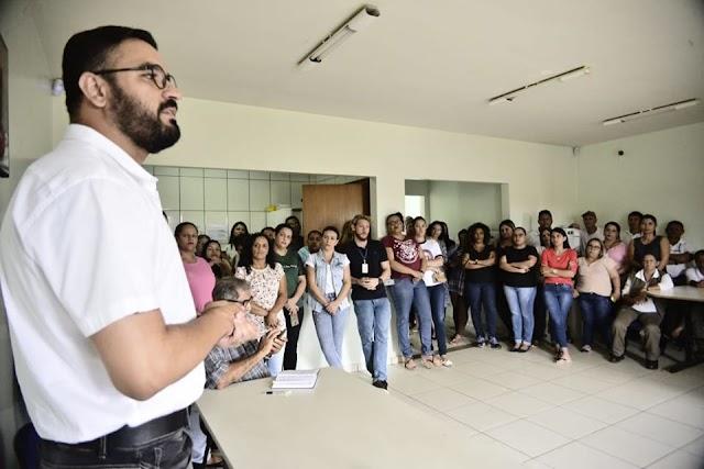 Senador Canedo: Reunião com servidores traça metas para Saúde Municipal