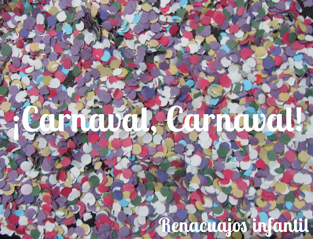 Carnaval educación infantil