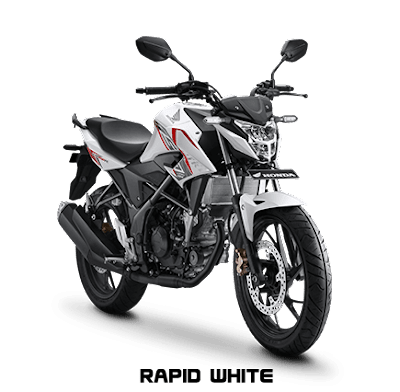 CB 150R Warna Rapid White