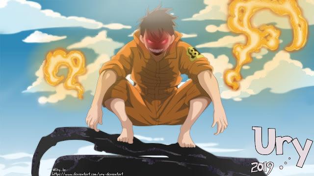 wallpaper shinra kusakabe demon