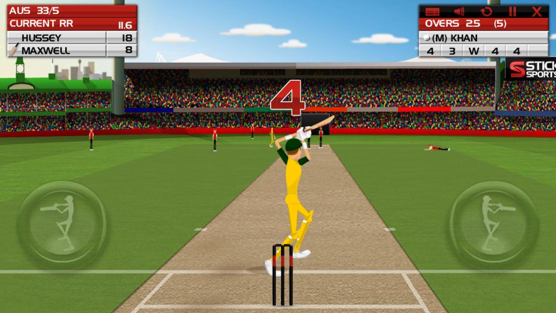 Australian Gaming Scene: Stick Cricket [Android, iOS, Flash]