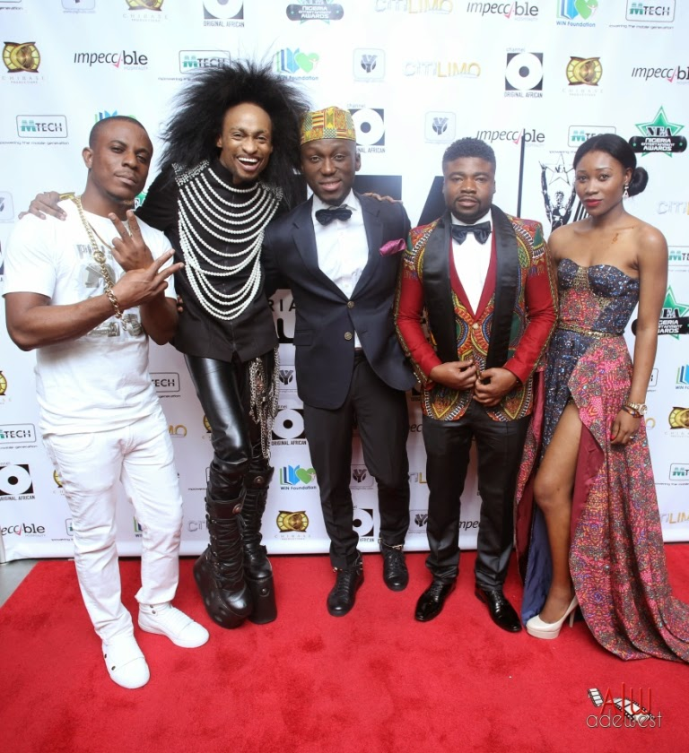 P67A9922 Red carpet photos from 2014 Nigeria Entertainment Awards