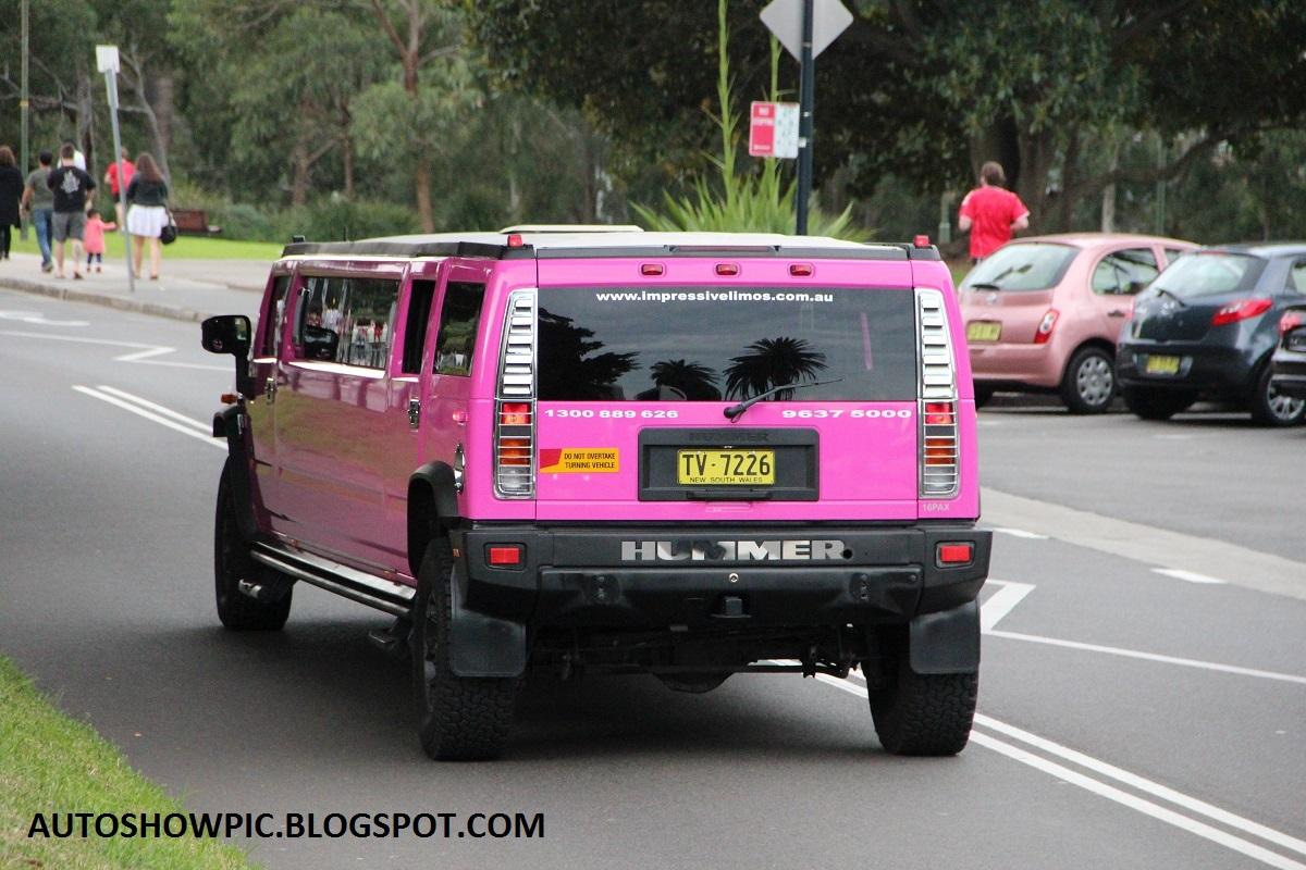 Hummer H2 Limousine in Sydney