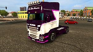 Van Der Hansen skin for Scania RJL