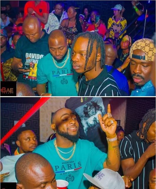 Davido And Naira Marley Shut Down Club In Anambra State Capital, Awka,