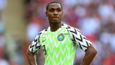 odion ighalo considers playing for nigeria super eagles again after retirement