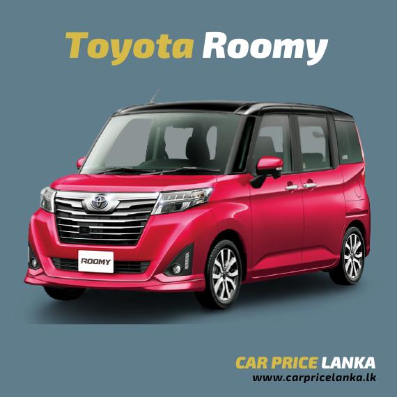 Toyota Roomy - Car Price Lanka
