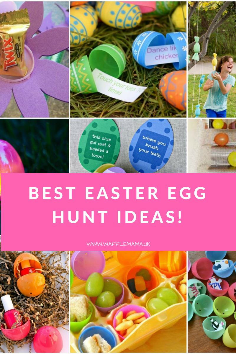 Wafflemama 9 Easter Egg Hunt Ideas