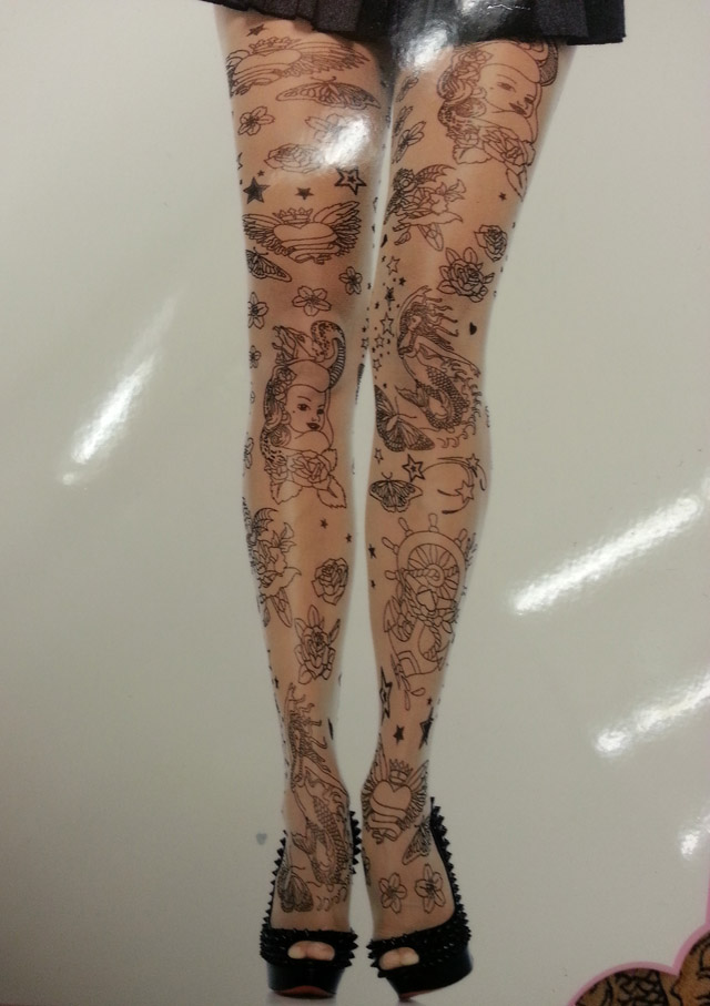 Leg Avenue Tattoo Tights