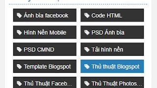 Tạo tiện ích nhãn 2 cột đẹp cho blogspot