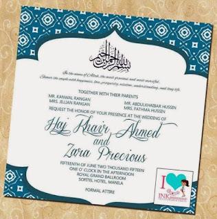 kalimat untuk undangan pernikahan islami