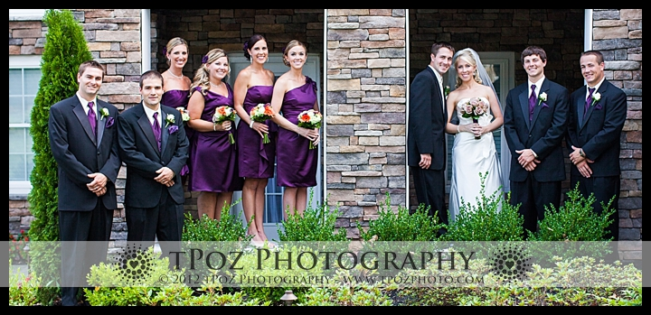 Bridal Party Portraits Kurtz's Beach Bridal Cottage