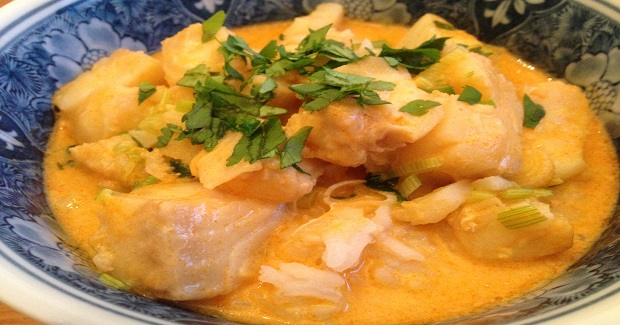 Coconut Red Curried Cod Recipe