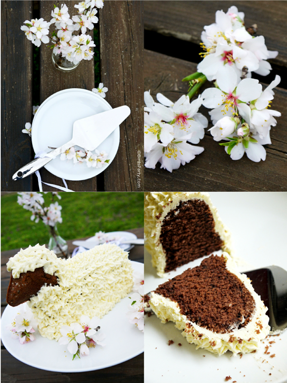 Easy Easter Lamb Cake Recipe & White Easter Decor - BirdsParty.com