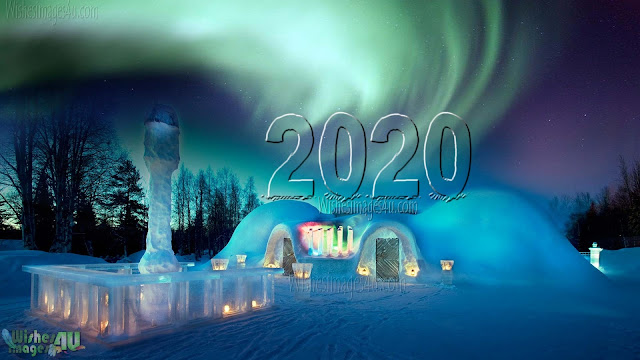 New year 2020 720p HD Wallpaper