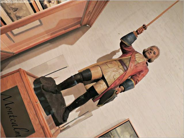 Comandante Montcalm en el Museo de la Ciudadela de Quebec