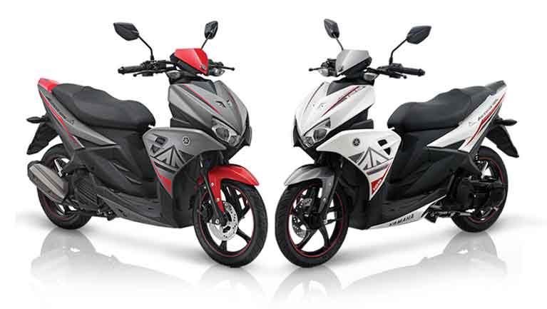Gambar Foto Motor Yamaha Aerox 125 LC  Terbaru 2018