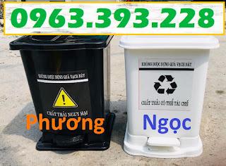 Thùng đựng rác y tế đạp chân, thùng rác nhựa đạp chân, thùng rác y tế, thùng rác 9254937f1fe7f9b9a0f6