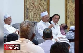 Presiden Partai Keadilan Rakyat (PKR) Malaysia Anwar Ibrahim